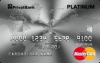 ПриватБанк — Карта «Пакет Platinum» MasterCard Platinum, гривны