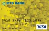 МТБ Банк — Карта «Для вкладчика» Visa Classic гривны