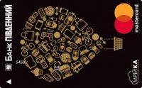 Банк Пивденный — Карта «Мрийка» MasterCard Gold гривны