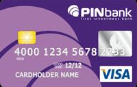 PINbank — Карта «Зарплатная с овердрафтом» Visa Classic гривны