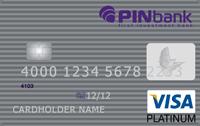 PINbank — Карта «Зарплатная с овердрафтом» Visa Platinum гривны