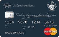 Укрбудинвестбанк — Карта «Платинум Премиум с овердрафтом» MasterCard Platinum гривны