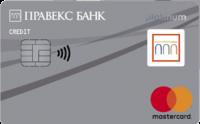 Правекс-банк — Карта «PRAVEX» MasterCard Platinum гривны