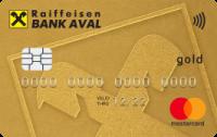 Райффайзен Банк Аваль — Карта «Для частных клиентов» Mastercard Gold contactless евро