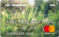 Укргазбанк — Карта «Эко-карта» MasterCard Debit гривны