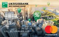 УкрСибБанк - Карта «All Inclusive Start» MasterCard Debit Contactless евро