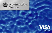 Индустриалбанк – Карта Visa Business Electron для бюджетных организаций, гривны